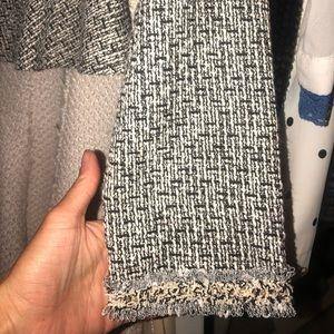 SHEIN Tops - Tweed peplum top